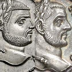 Tetrarquía: Diocleciano a Martiniano (292-313 d.C.)