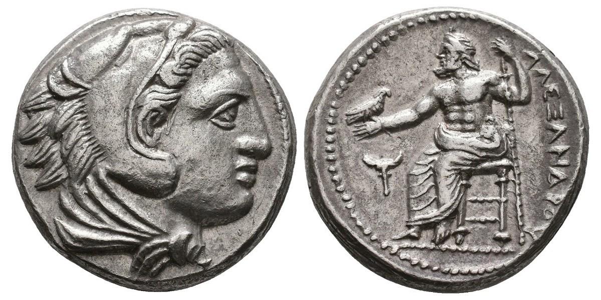 Alejandro Magno. Tetradracma. 336-323 a.C.. Amphipolis
