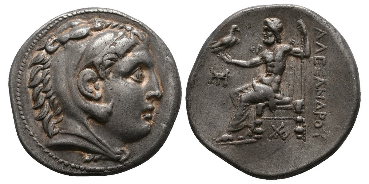 Alejandro Magno. Tetradracma. 336-323 a.C.. Incierta