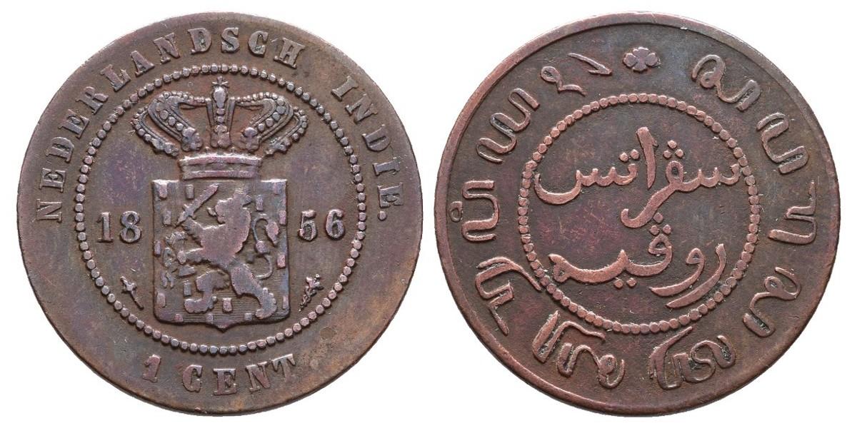 India Holandesa. 1 cent. 1856