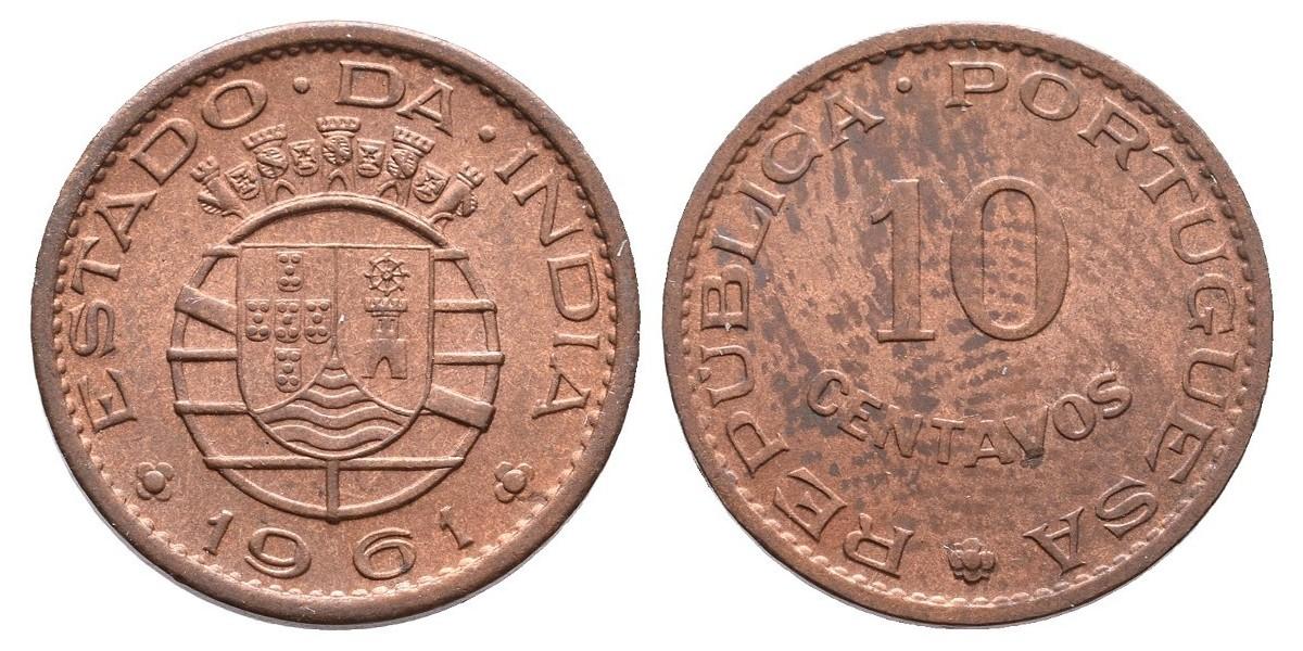 India Portuguesa. 10 centavos. 1961
