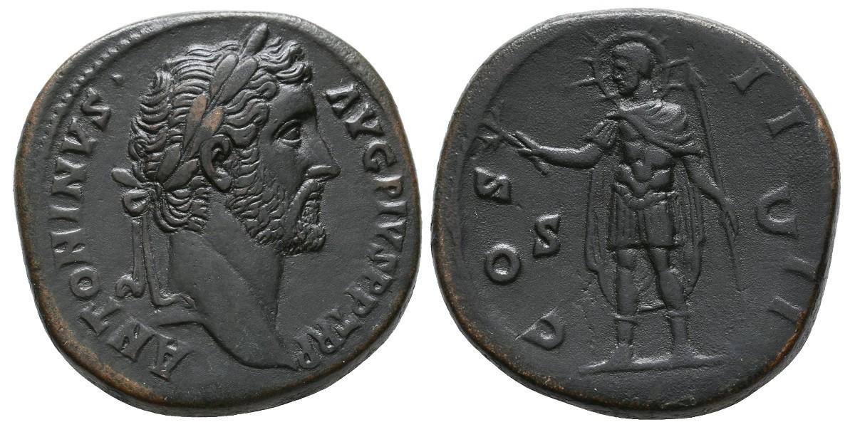 Antonino Pio. Sestercio. 138-162 d.C.. Roma