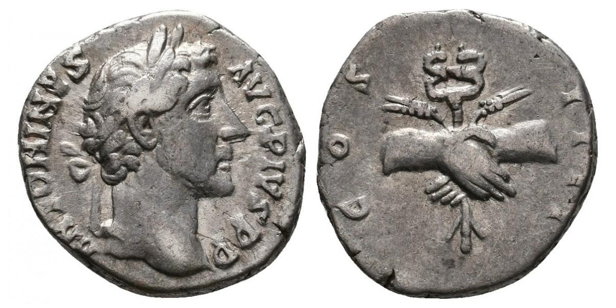 Antonino Pio. Denario. 138-162 d.C.. Roma