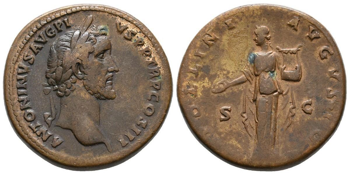 Antonino Pio. Sestercio. 138-161 d.C.. Roma