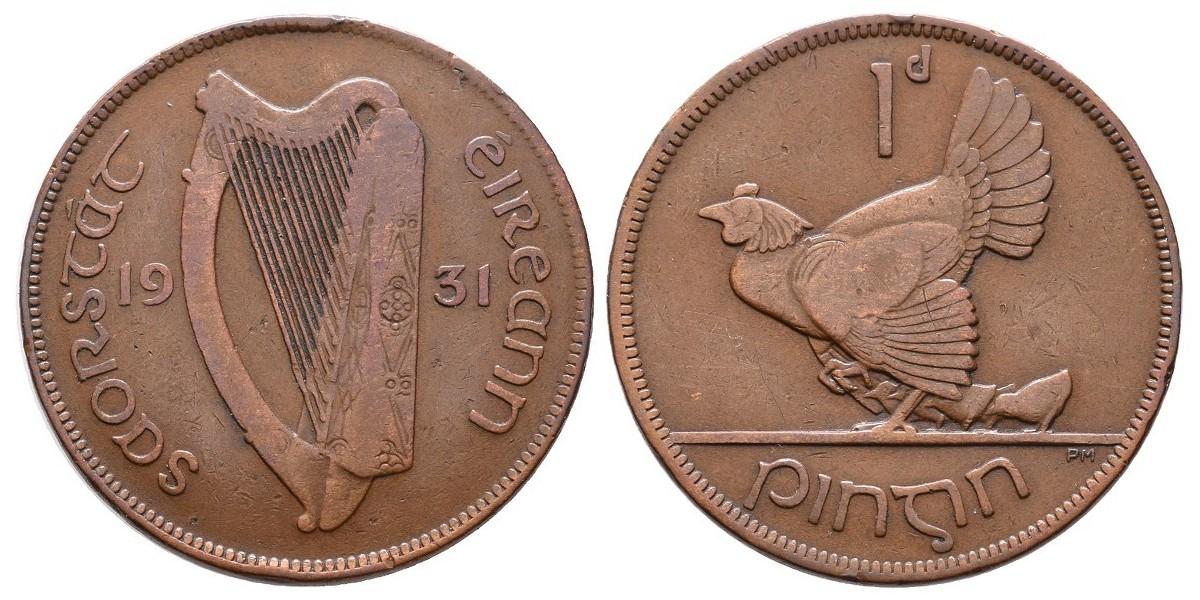 Irlanda. 1 penny. 1931