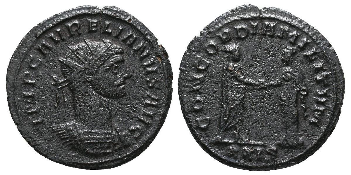 Aureliano. Antoniniano. 270-275 d.C.. Siscia