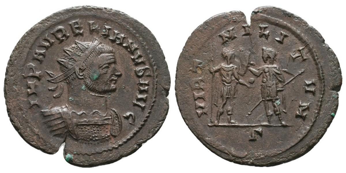 Aureliano. Antoniniano. 270-275 d.C.. Roma
