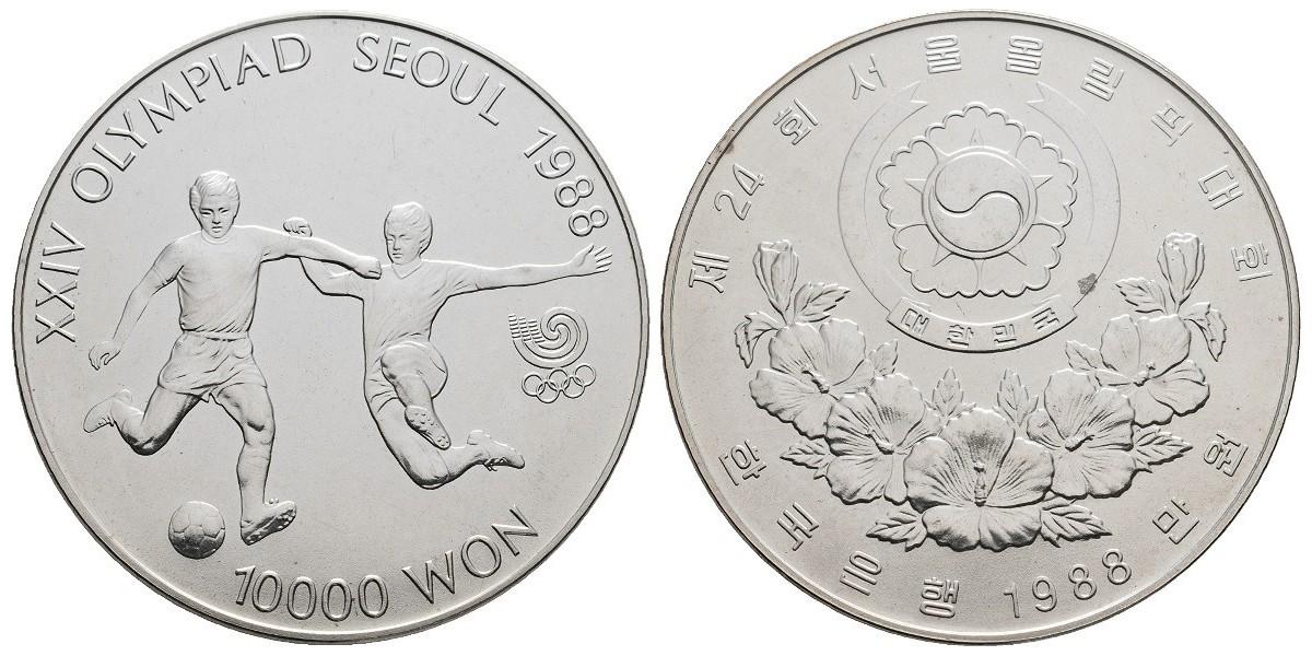 Corea del sur. 10000 won. 1988