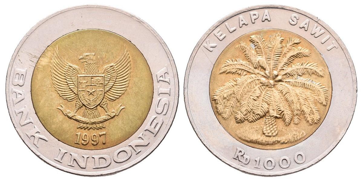 Indonesia. 1000 rupiah. 1997