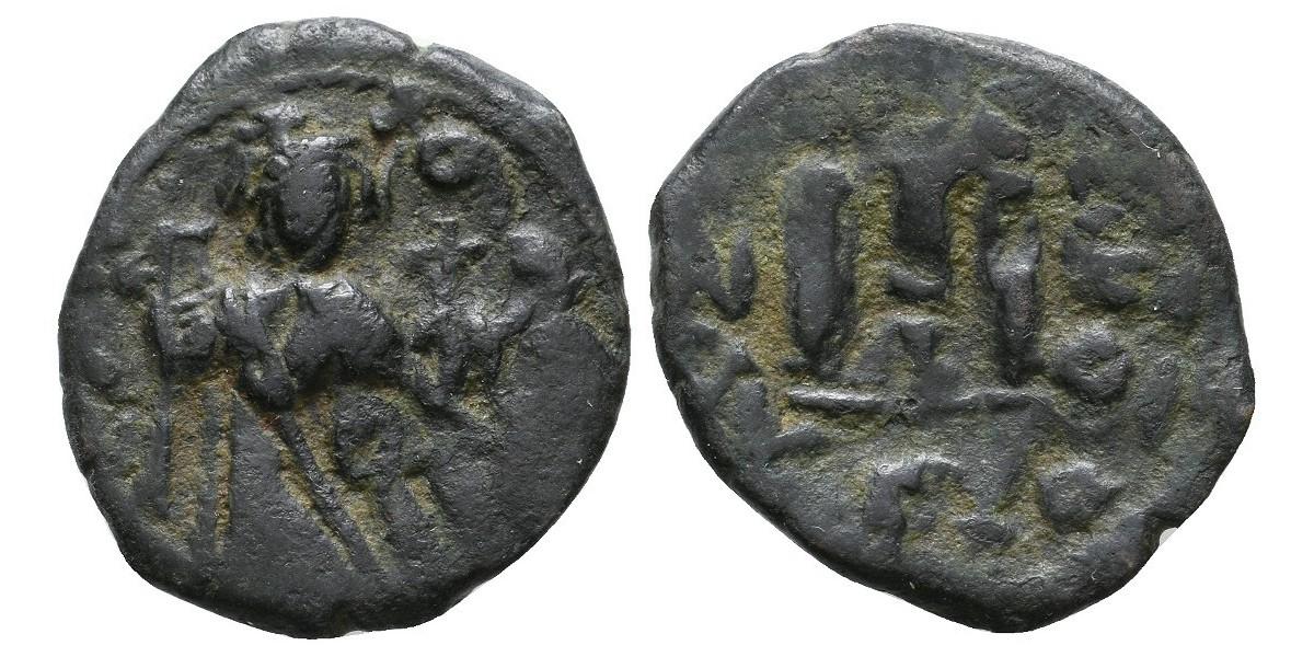 Constante II. Follis. 641-668 d.C.
