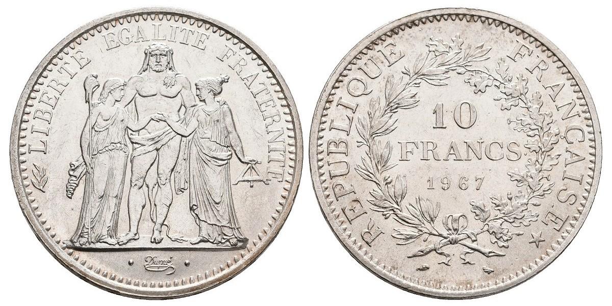 Francia. 10 francs. 1967