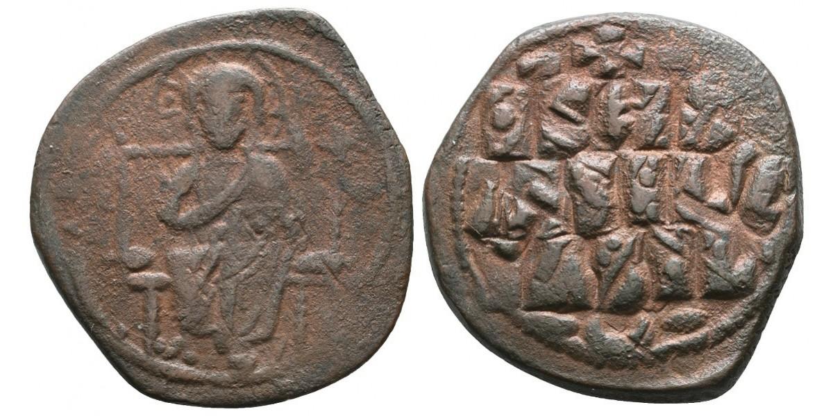 Constantino IX. Follis. 1042-1055 d.C.