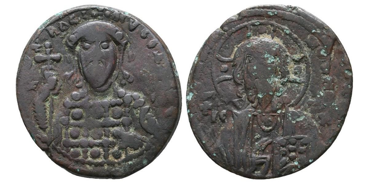 Constantino X. Follis. 1059-1067 d.C.. Constantinopla
