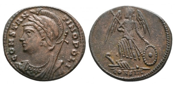 Constantinopolis. Centenional. Siglo IV d.C.. Constantinopla