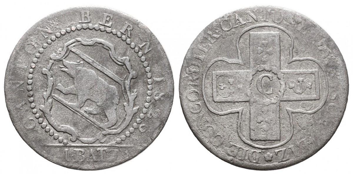Suiza. 1 batz. 1826. Berna