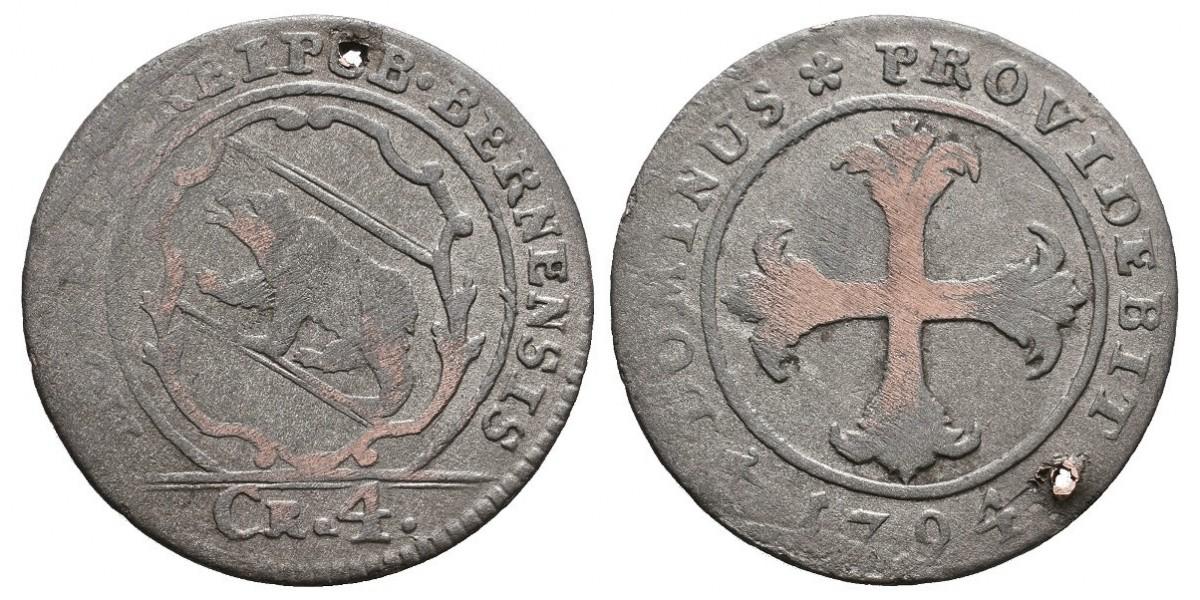 Suiza. 1/2 batzen. 1794. Berna