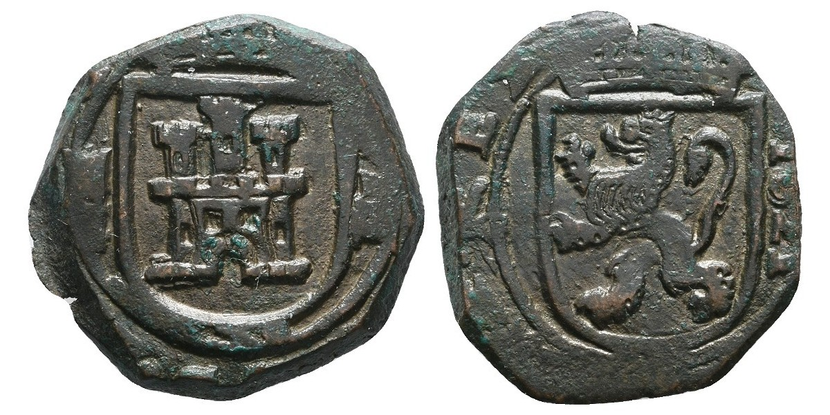 Felipe III. 8 maravedís. 1621. Segovia