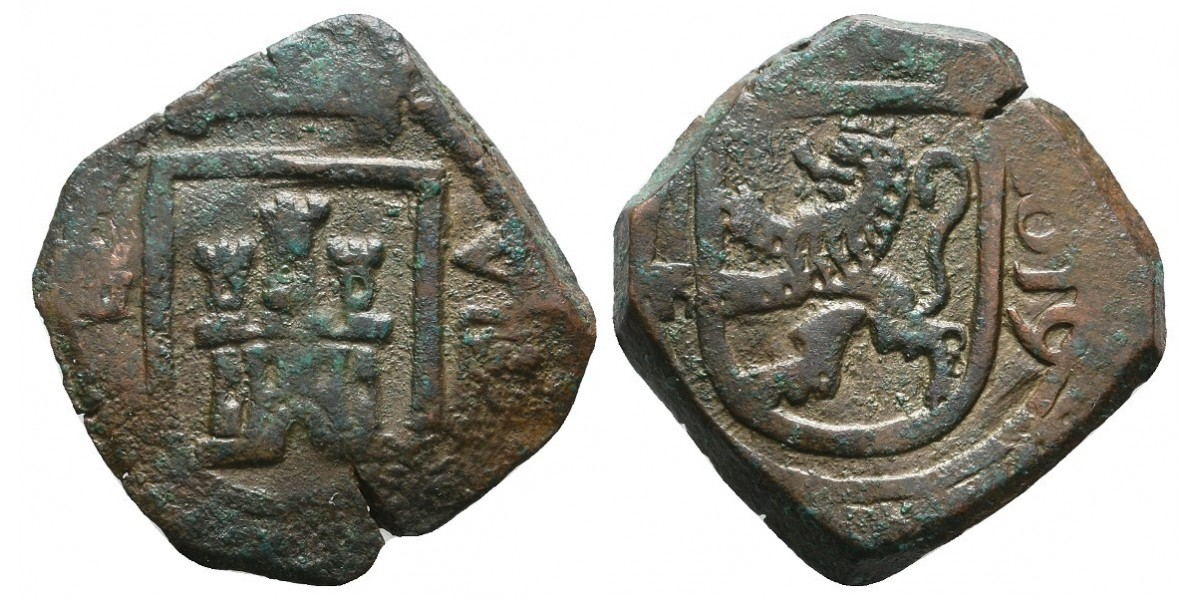 Felipe III. 8 maravedís. 1619. Segovia