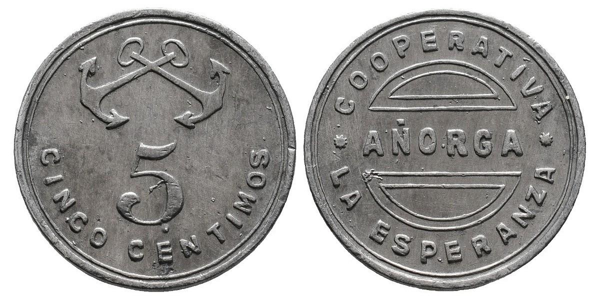 La Esperanza. 5 céntimos. S.F