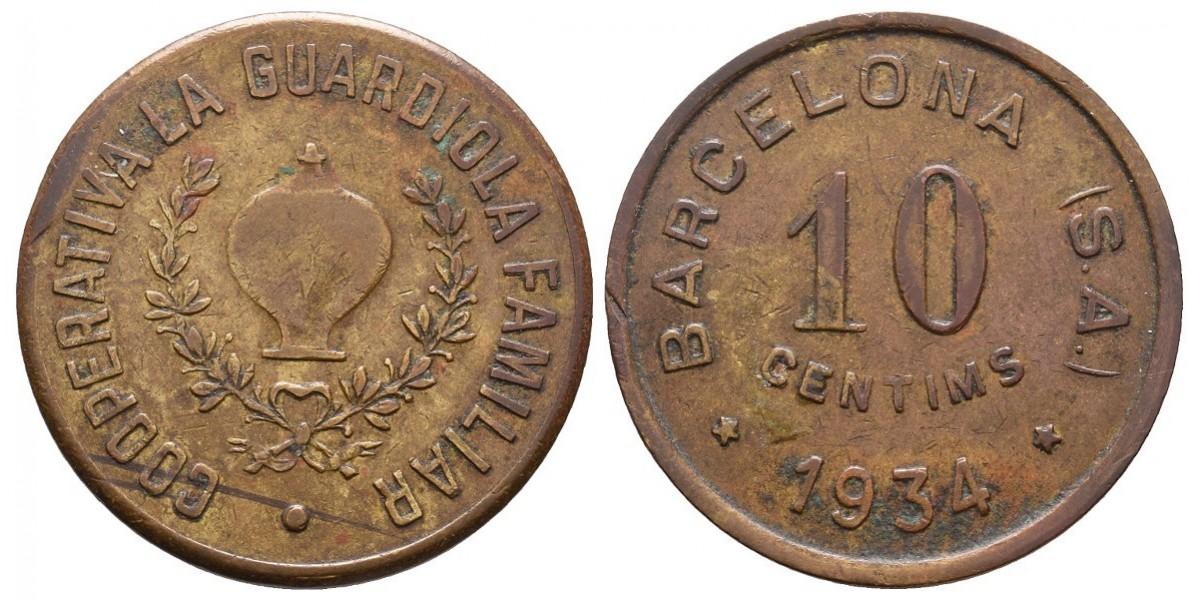 La Guardiola Familiar. 10 céntimos. 1934