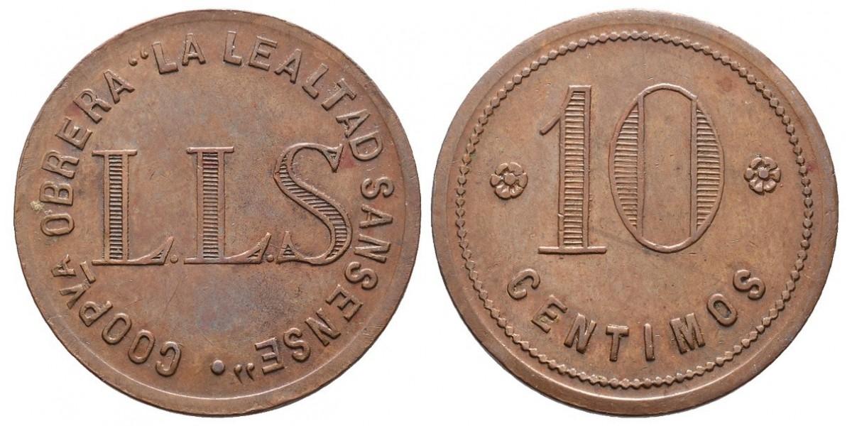La Lealtad Sansense. 10 céntimos. S.F