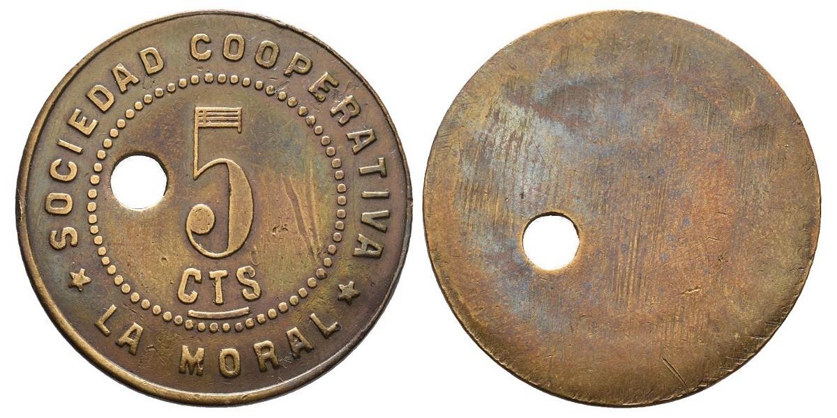 La Moral. 10 céntimos. S.F