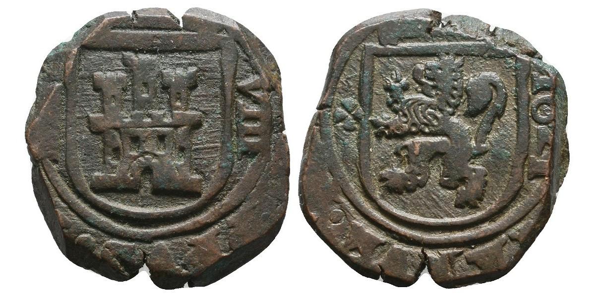 Felipe IV. 8 maravedís. 1621. Segovia