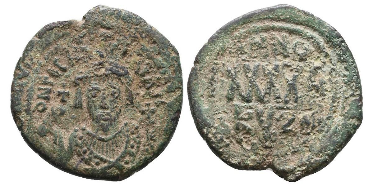 Focas. Follis. 602-610 d.C.. Cyzicus