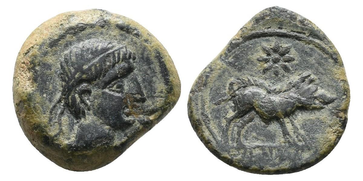 Hispania. Semis. Siglo I a.C.. Cástulo