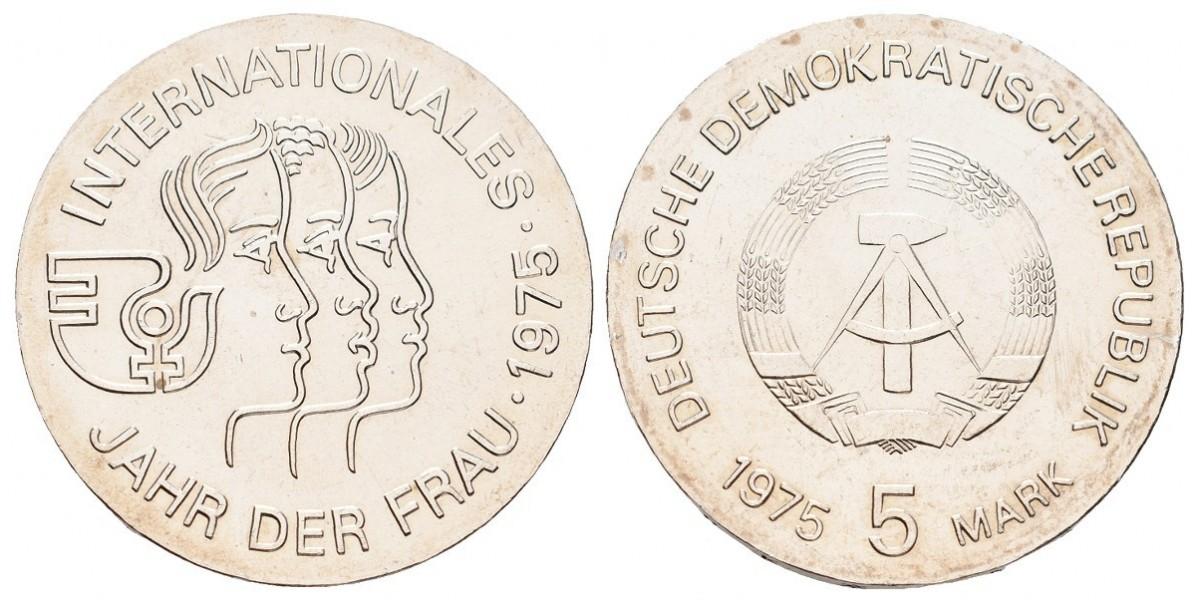 Alemania DDR. 5 mark. 1975