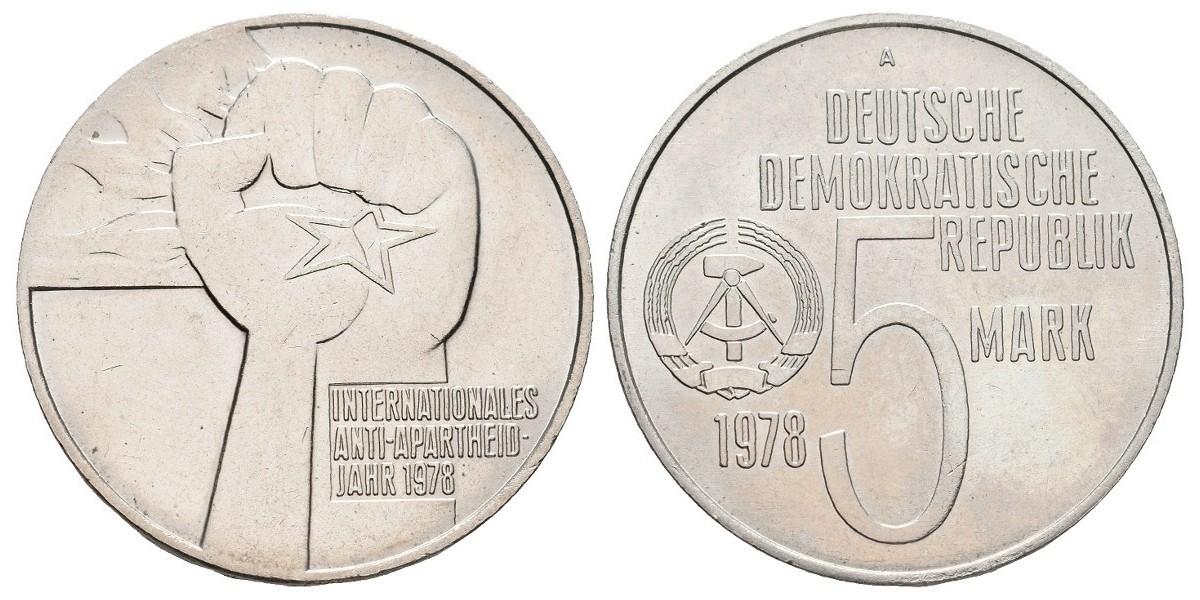 Alemania DDR. 5 mark. 1978