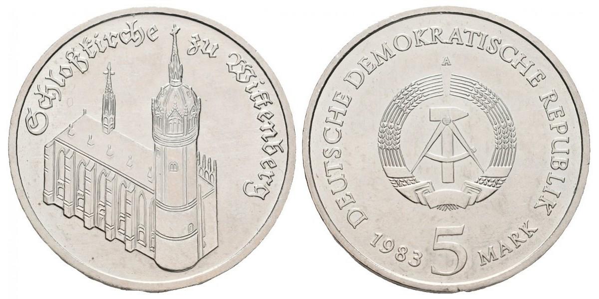 Alemania DDR. 5 mark. 1983