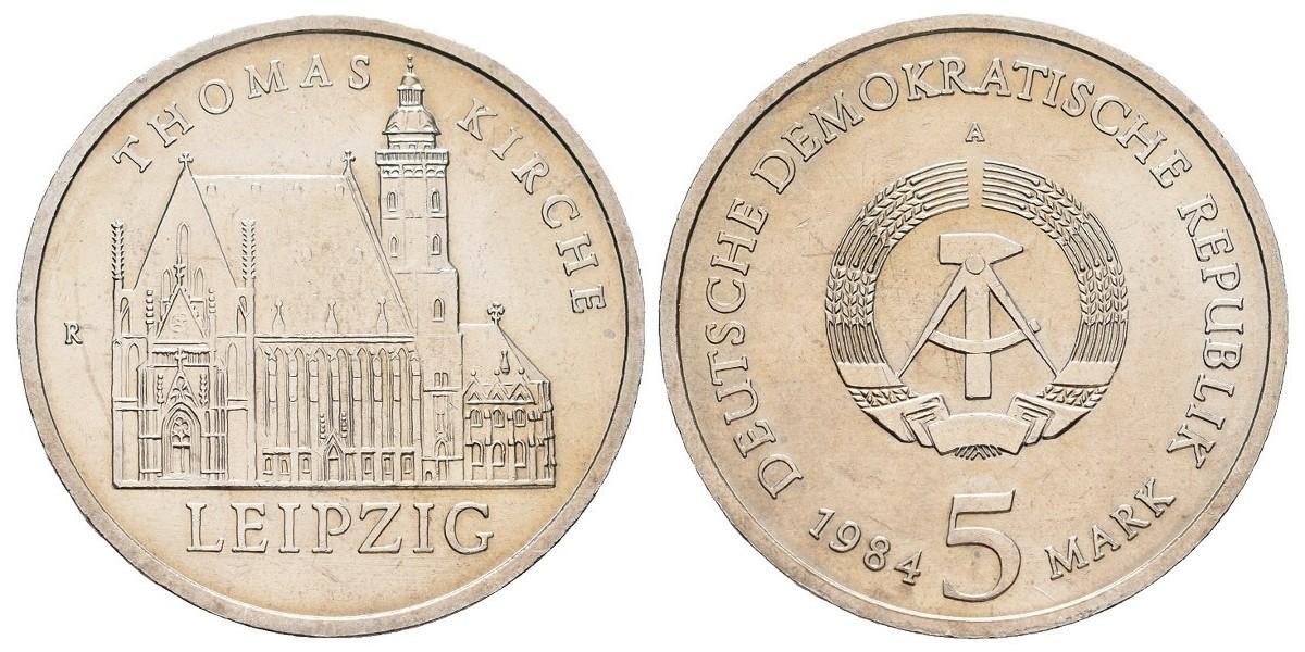 Alemania DDR. 5 mark. 1984