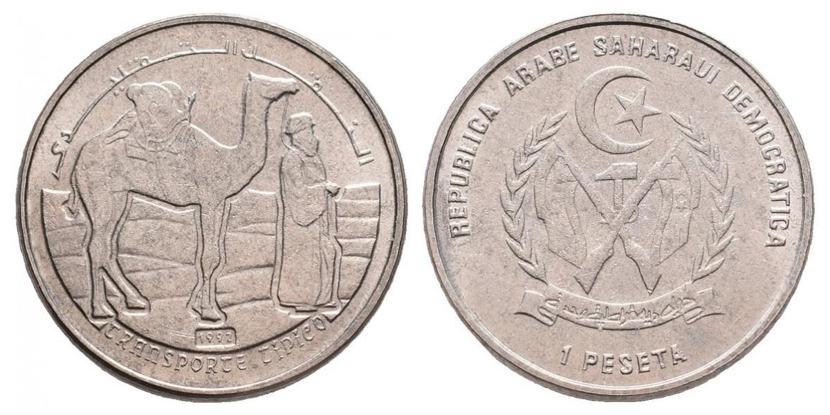 Rep. Saharawi. 1 peseta. 1992