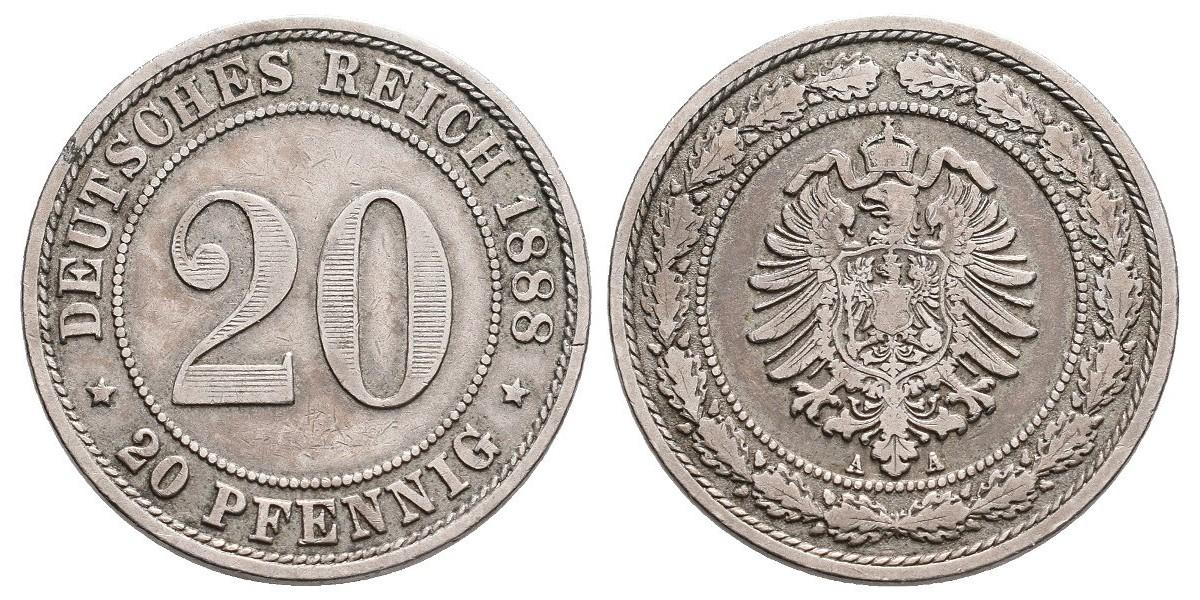 Alemania. 20 reichs...