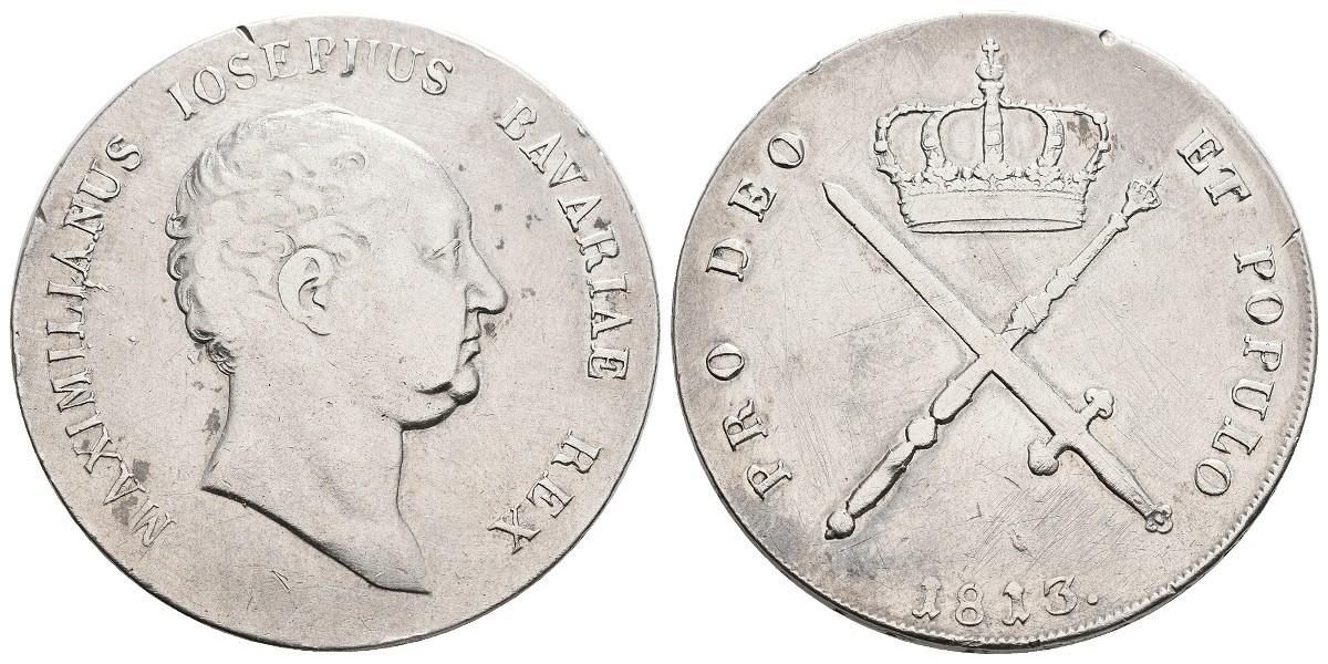 Alemania. 1 thaler. 1813