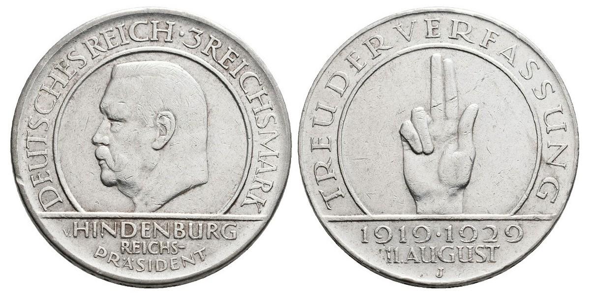 Alemania. 3 reichs mark....