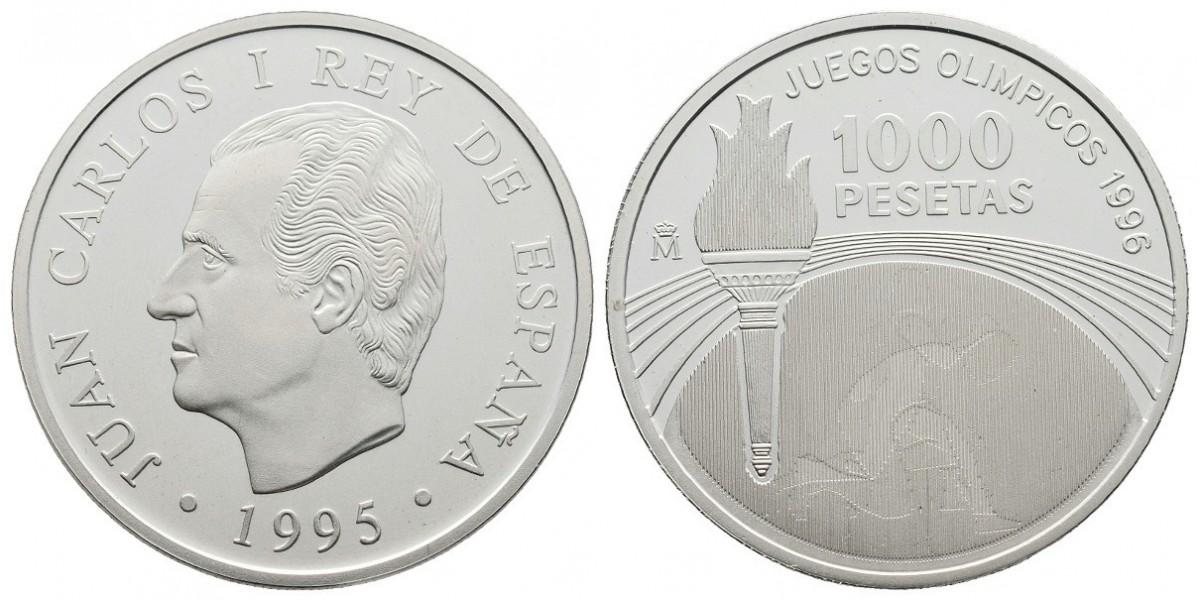 Juan Carlos I. 1000 pesetas. 1995