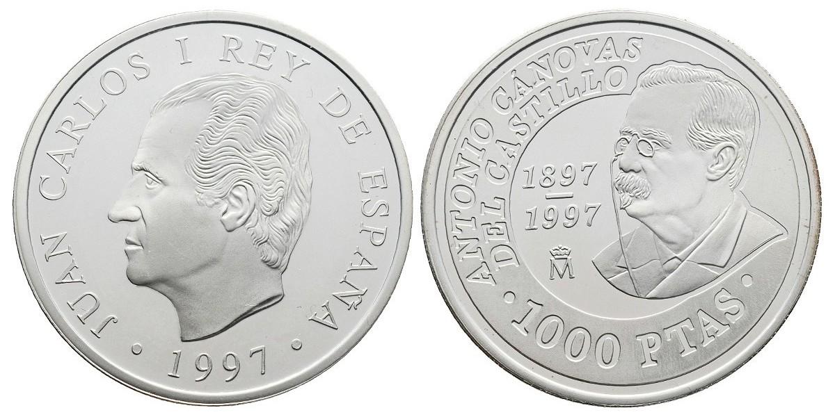 Juan Carlos I. 1000 pesetas. 1997