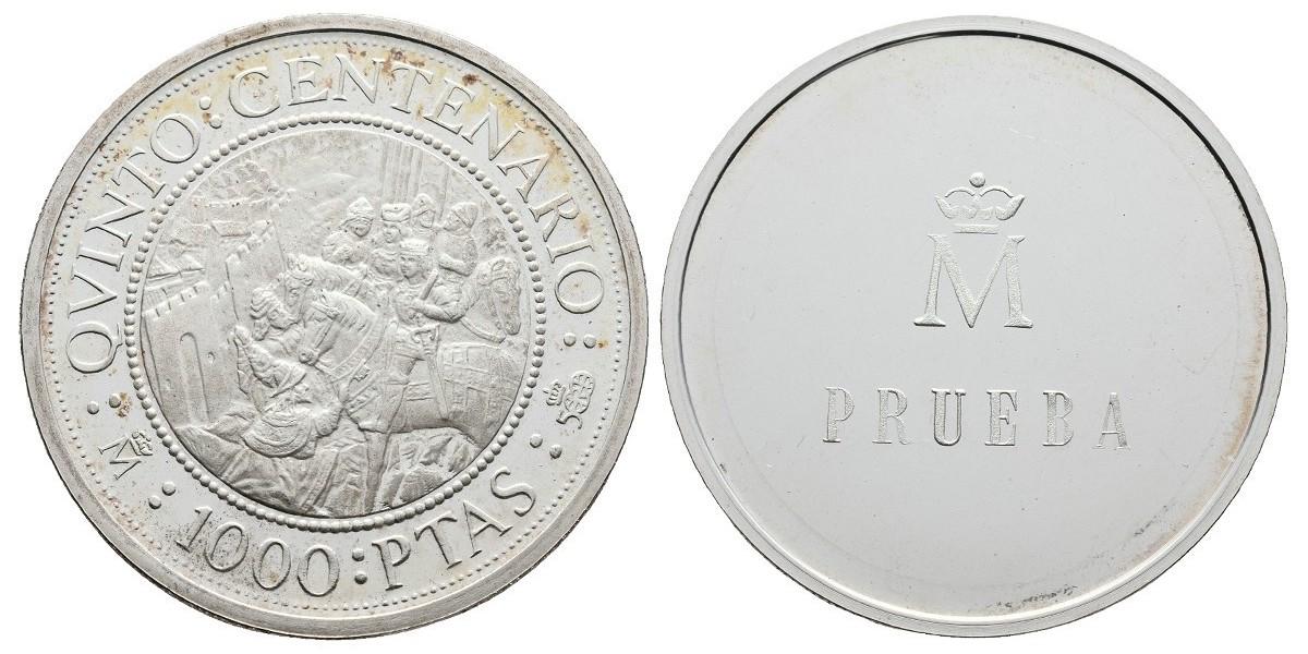 Juan Carlos I. 1000 pesetas.