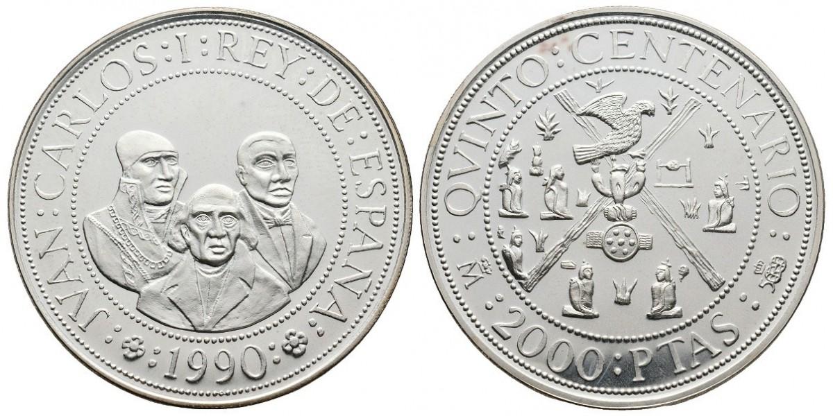 Juan Carlos I. 2000 pesetas. 1990