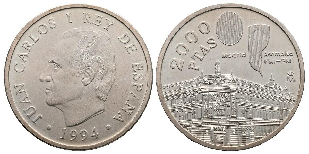 Juan Carlos I. 2000 pesetas. 1994