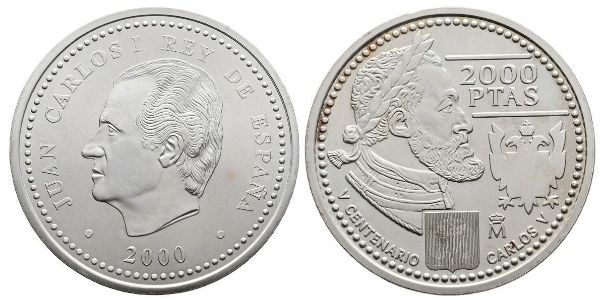 Juan Carlos I. 2000 pesetas. 2000