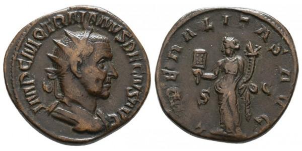 Trajano Decio. Dupondio. 249-251 d.C.. Roma
