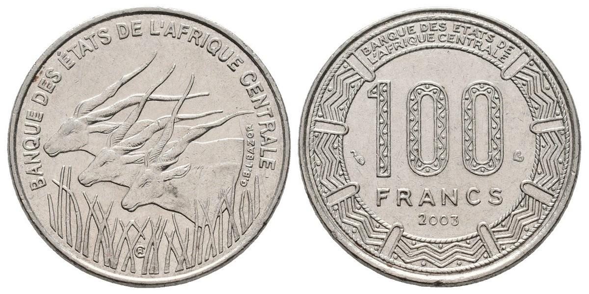 Central Afr. States. 100 francs. 2003