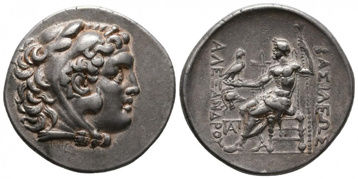 Alejandro Magno. Tetradracma. 250-187 a.C.. Mesembria