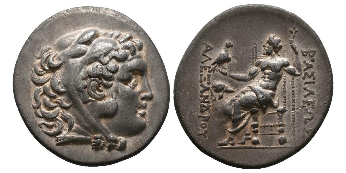 Alejandro Magno. Tetradracma. 336-323 a.C.. Mesembria