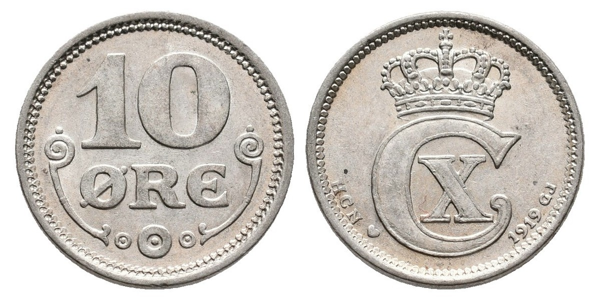 Dinamarca. 10 ore. 1919