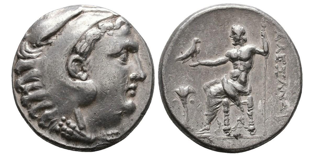 Alejandro Magno. Tetradracma. 200 a.C.. Arados